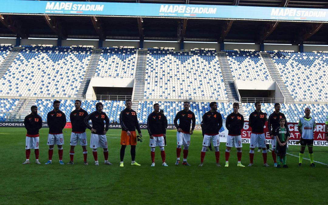 Sassuolo-Perugia termina 1-2