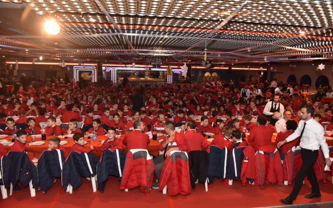 Grande cena di Natale con il settore giovanile