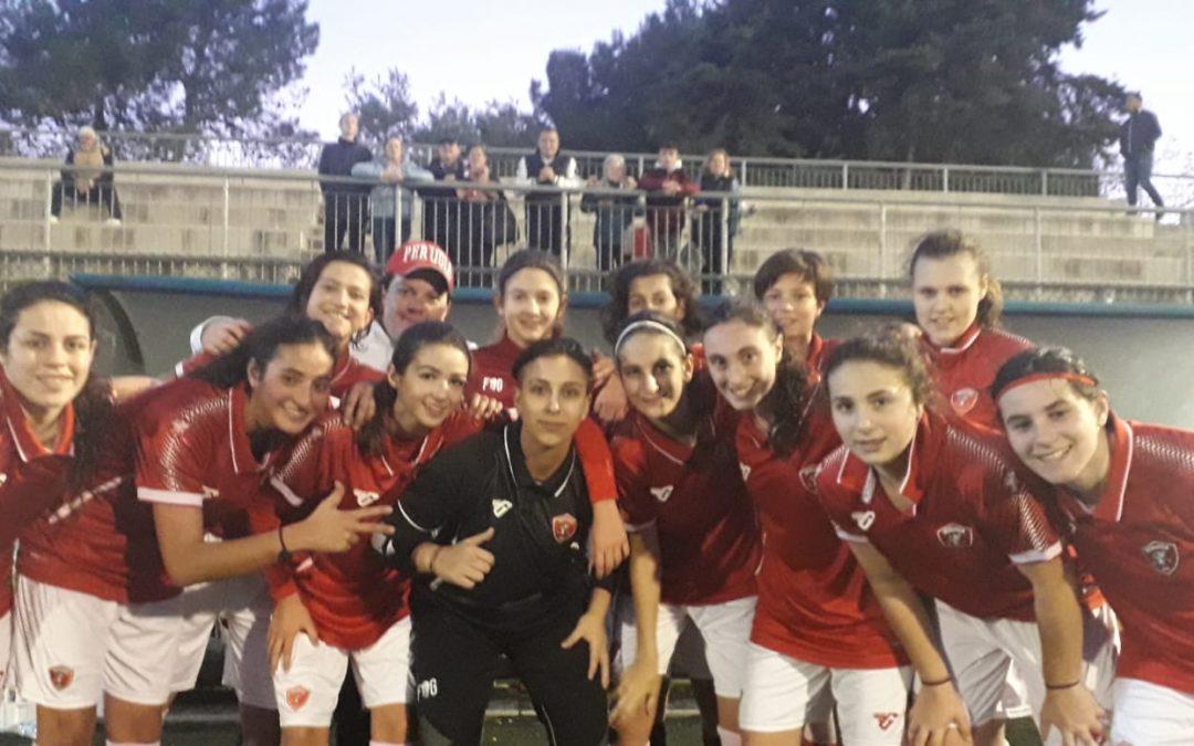 Under 17 femminile: Perugia-Chieti 4-1