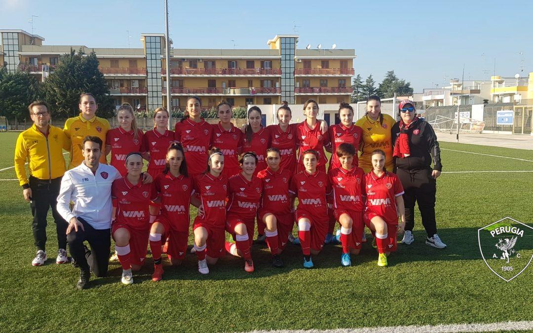 Primavera femminile: Pink Bari-Perugia 3-2