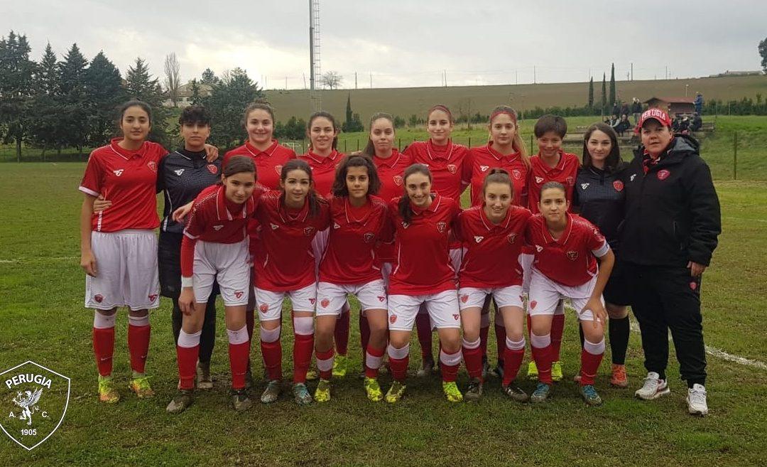 Under 17 femminile: Perugia-Lazio 3-0