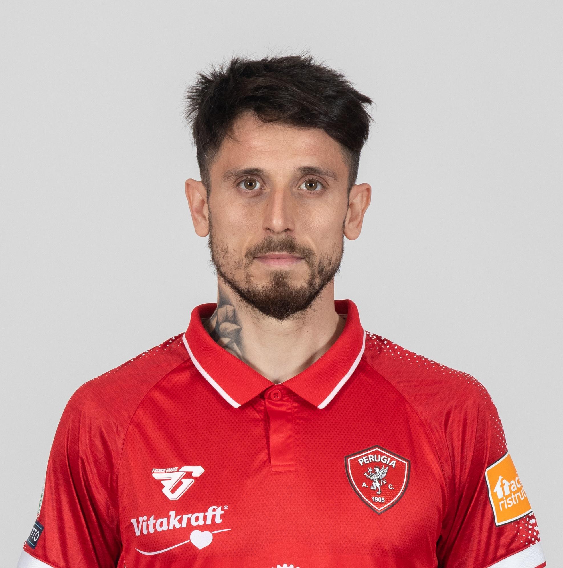 Leandro GrecoCentrocampista- A.C. Perugia Calcio