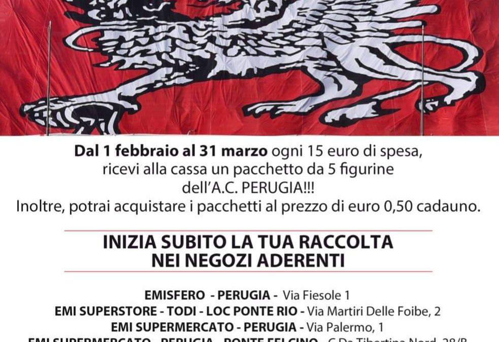 Colleziona le figurine dell'A.C. Perugia Calcio