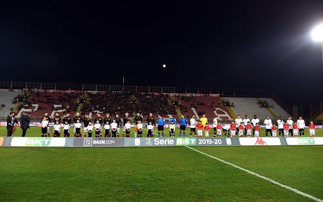 Perugia-Spezia termina 0-3