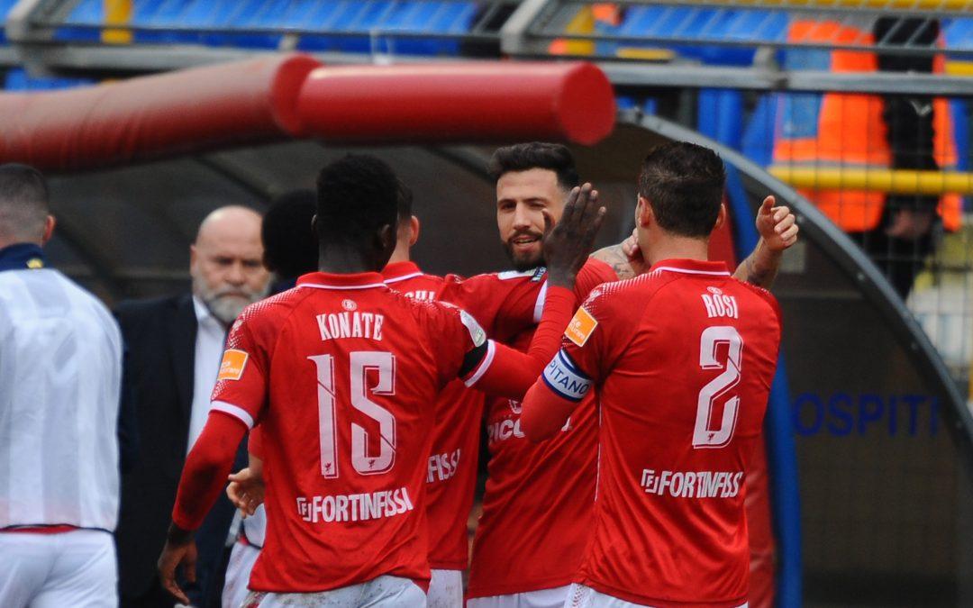Juve Stabia-Perugia termina 1-2