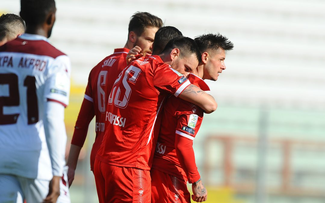 Perugia-Salernitana termina 1-0