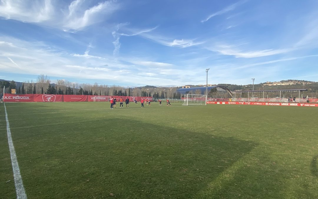 Oggi squadra in campo in vista della sfida con il Pordenone