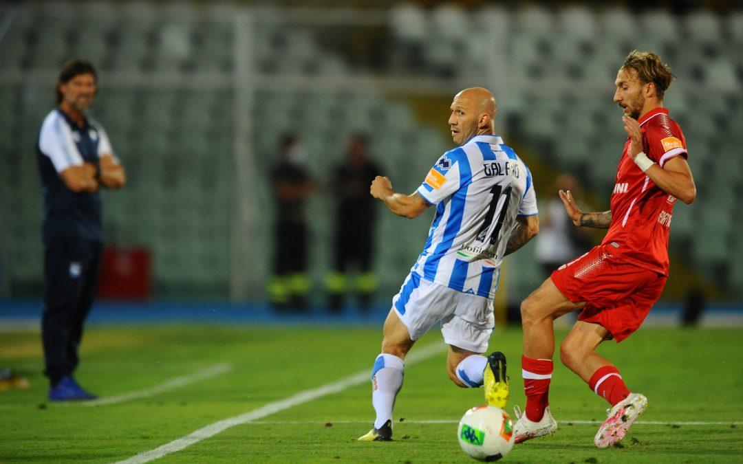 Pescara-Perugia termina 2-2