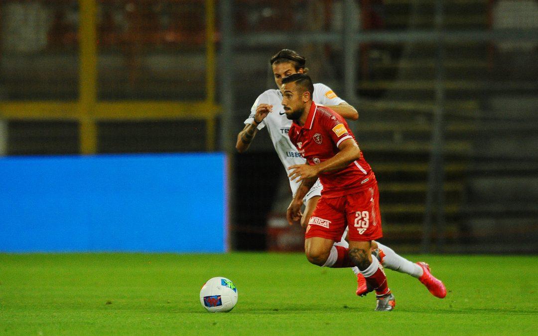 Perugia-Trapani termina 1-2