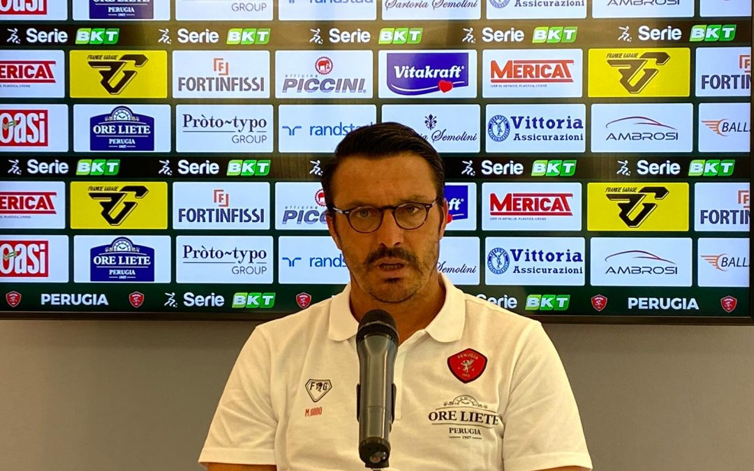 Conferenza stampa Massimo Oddo