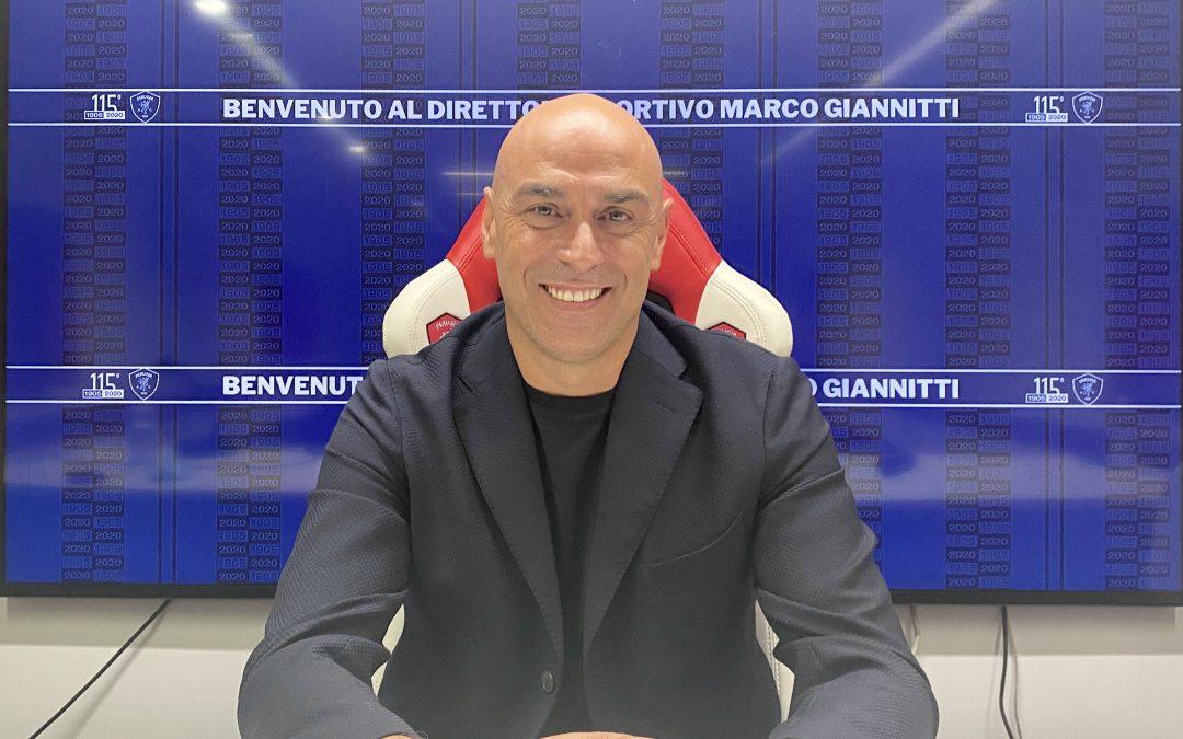 """Giannitti: """"Perugia storia importante. I giocatori dovranno avere senso di appartenenza"""""""