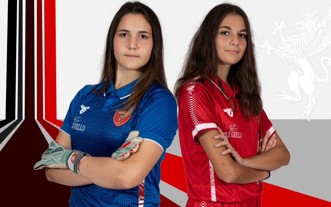 Tre giorni di stage con la Juventus Women per Elena Urso e Michela Angori