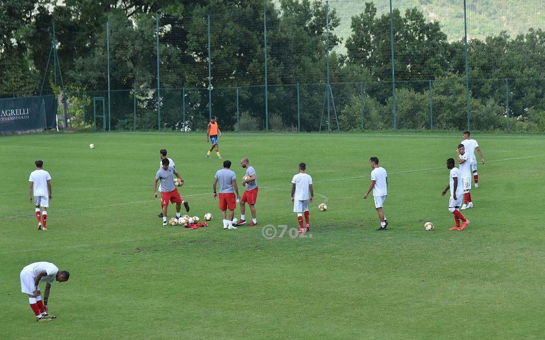 L'allenamento congiunto termina 1-0