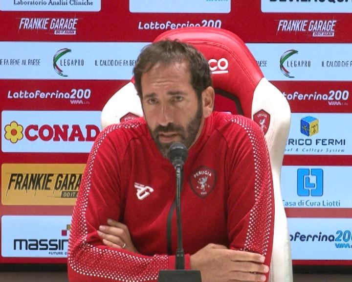 """""""Ad Arezzo voglio un Perugia camaleontico, non penso al mercato, gioca chi merita"""""""