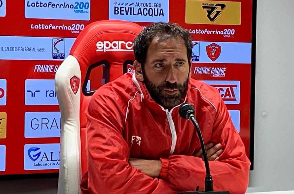 È già Ascoli-Perugia, le parole di mister Caserta alla vigilia del match