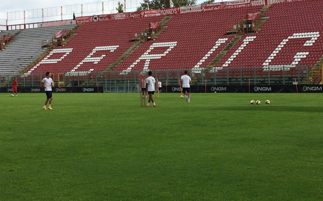 Programma allenamenti in vista dell'Arezzo