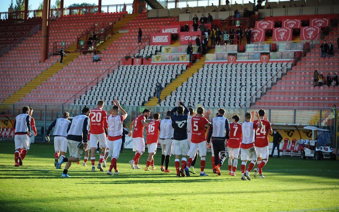 Perugia-Fermana 2-0, highlights