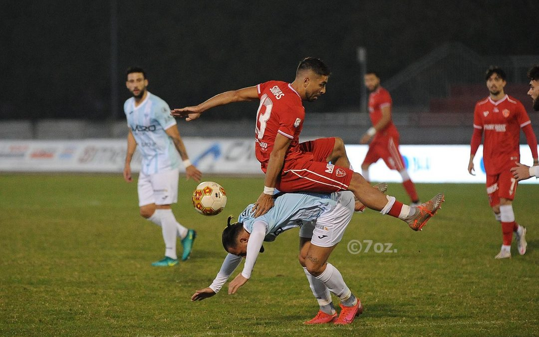 Legnago-Perugia 0-2, highlights
