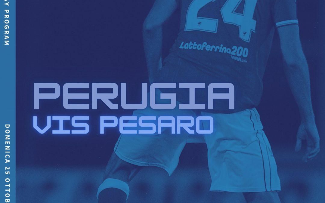Perugia-Vis Pesaro, il match-day programme