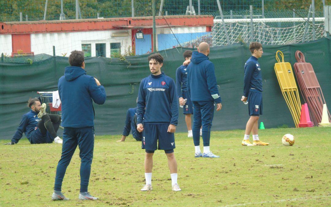 Penultimo allenamento in vista della Vis Pesaro