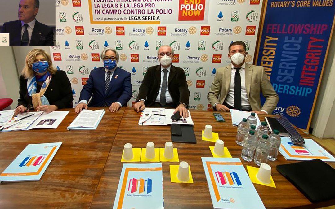 END POLIO NOW, sui campi di B e di C l'iniziativa del Rotary per cancellare la poliomielite