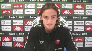 Brescia-Perugia, Alessandro Tozzuolo commenta così il suo esordio tra i professionisti