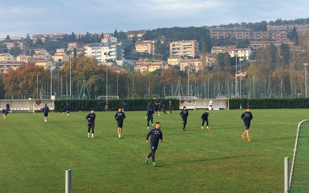 Sudtirol-Perugia, 22 convocati