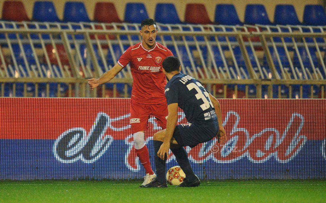 Sambenedettese-Perugia 1-1 | Vantaggio di Ruben Botta su calcio di rigore, pareggio di Melchiorri con un gran colpo di testa