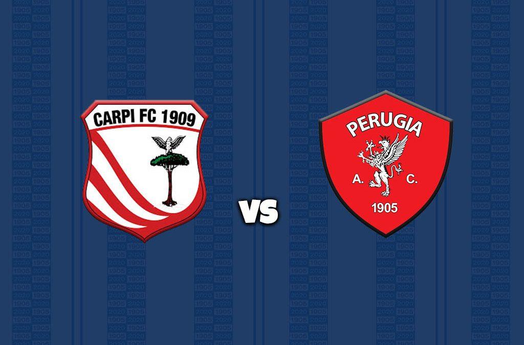Carpi-Perugia, diretta su pagina Facebook e Youtube