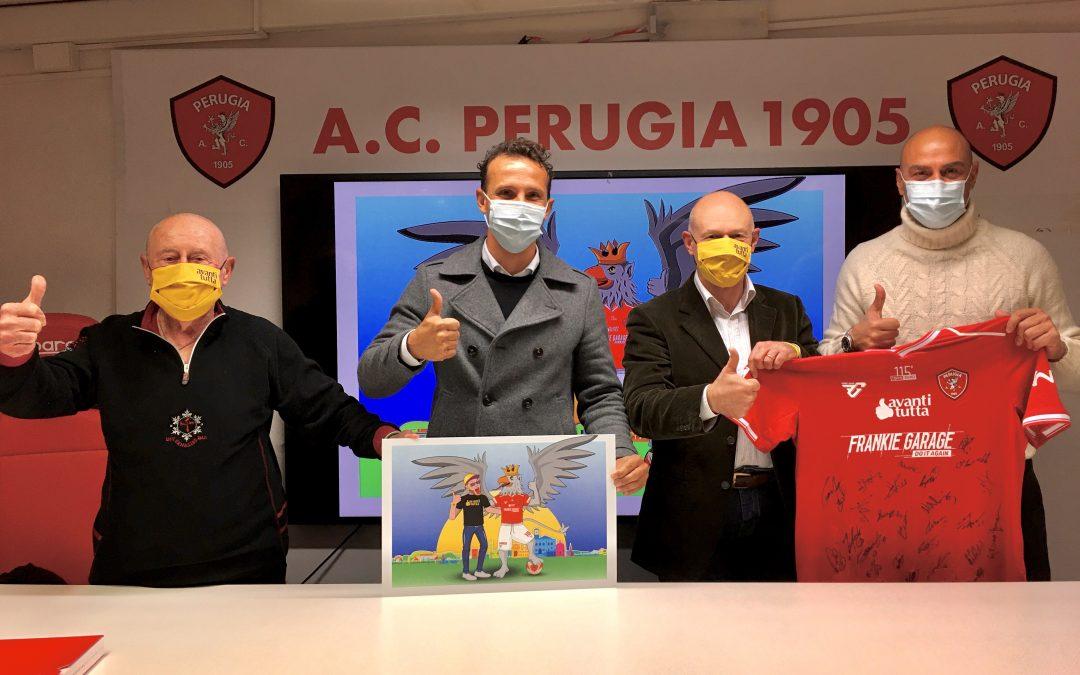 """Si consolida il binomio tra l'Associazione """"Avanti Tutta Onlus"""" e l'A.C. Perugia Calcio"""