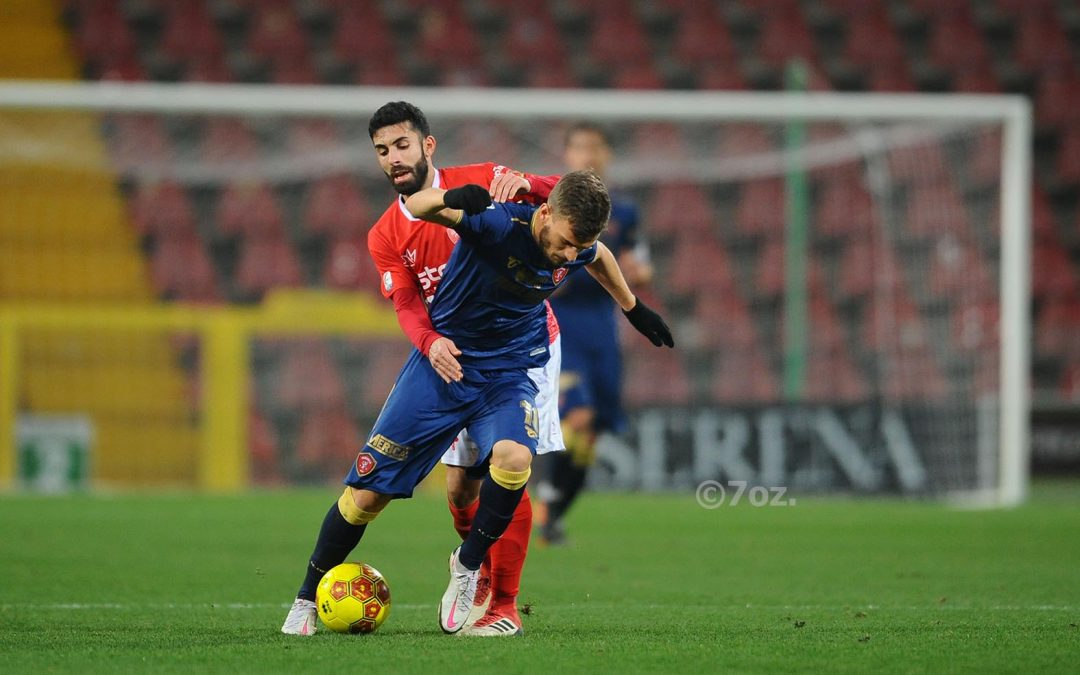 Triestina-Perugia 2-1, highlights