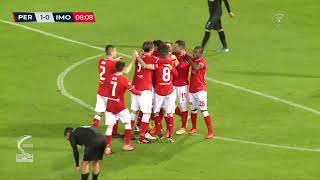 Perugia-Imolese 2-0, highlights