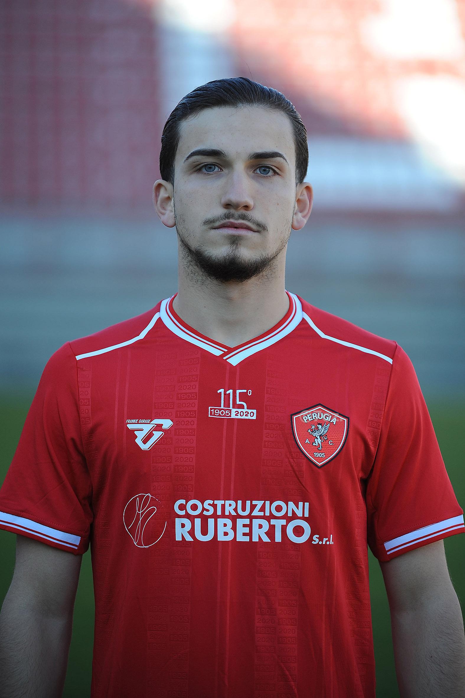 Raffaele D'AngeloCentrocampista- A.C. Perugia Calcio
