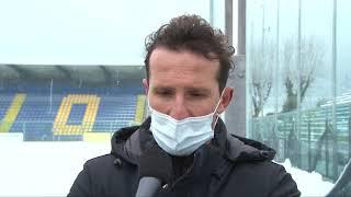 """""""Siamo arrabbiati. Ha smesso di nevicare presto, la partita era alle 17:30. Assurdo che i teloni non siano obbligatori"""""""