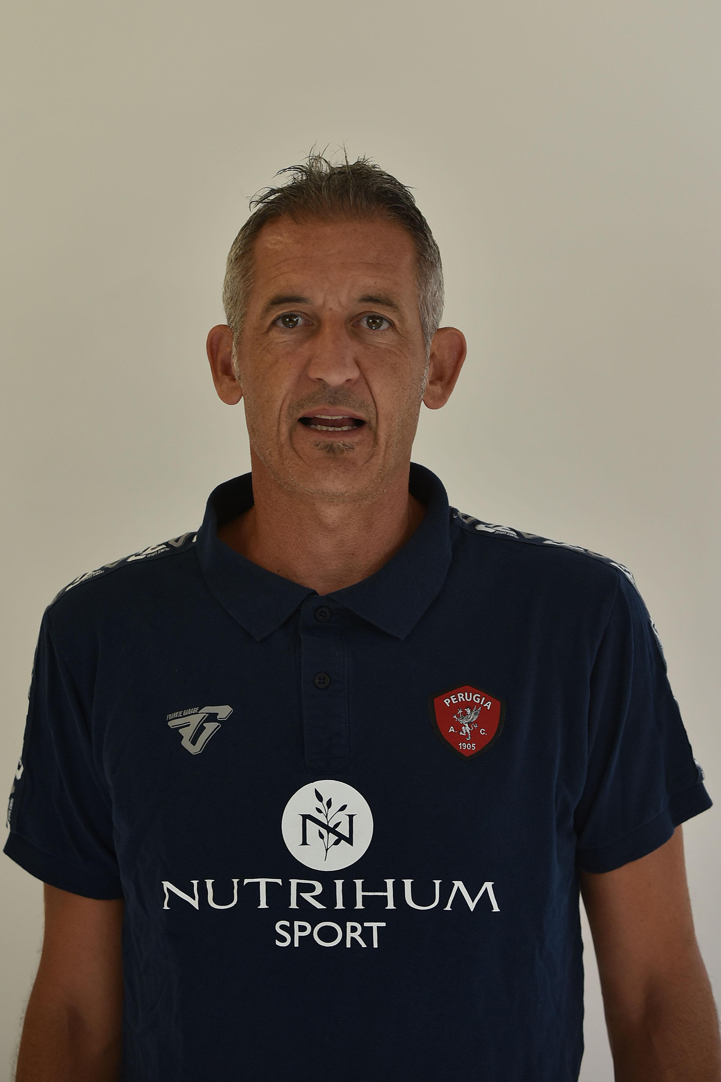 Massimo GazzoliPreparatore Portieri- A.C. Perugia Calcio