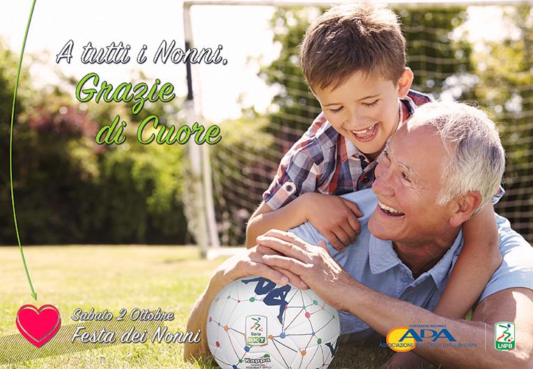 7a giornata Serie BKT   Ada e Lega Serie B insieme per festeggiare i nonni